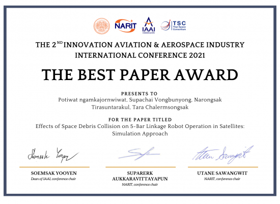 Best paper award (2)